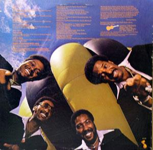 Back Cover Album The Four Tops - At The Top