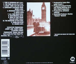 Back Cover Album Alexander O' Neal - All True Man