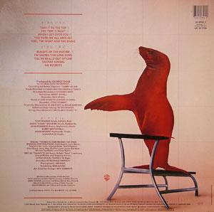 Back Cover Album Rufus & Chaka Khan - Seal In Red
