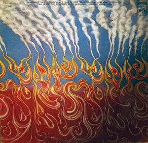 Back Cover Album Wind & Fire Earth - Last Days And Time