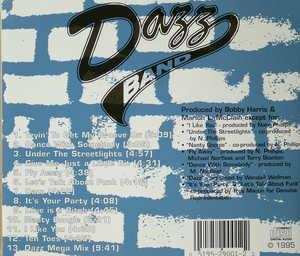 Back Cover Album The Dazz Band - Under The Streetlights