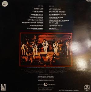 Back Cover Album The Stylistics - Black Satin