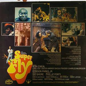 Back Cover Album Curtis Mayfield - Superfly