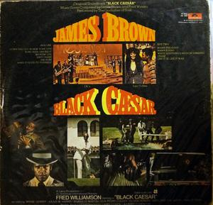 Back Cover Album James Brown - Black Caesar