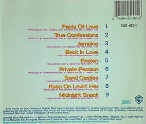 Back Cover Album Jeff Lorber - Private Passion