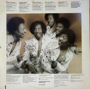 Back Cover Album The Temptations - Hear To Tempt You