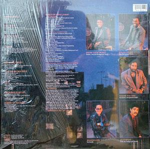 Back Cover Album Commodores - Nightshift