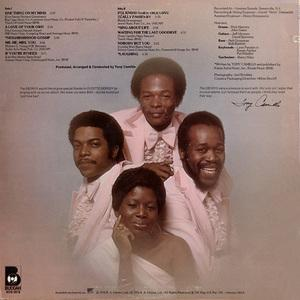 Back Cover Album The Ebony's - Sing About Love