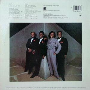 Back Cover Album Gladys Knight & The Pips - Visions