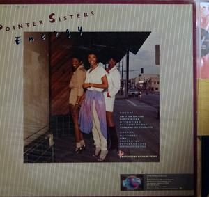 Back Cover Album Pointer Sisters - Energy