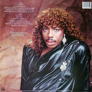 Back Cover Album Rick James - Glow