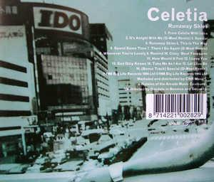 Back Cover Album Celetia - Celetia