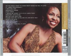 Back Cover Album Gladys Knight - At Last