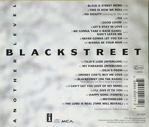 Back Cover Album Blackstreet - Another Level