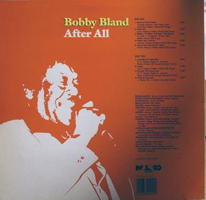 Back Cover Album Bobby Bland - After All