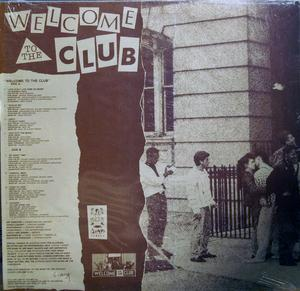 Back Cover Album Various Artists - Welcome To The Club