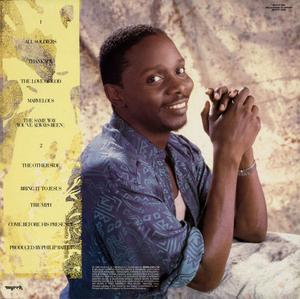 Back Cover Album Philip Bailey - Triumph