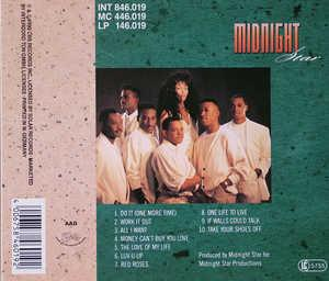 Back Cover Album Midnight Star - Work It Out