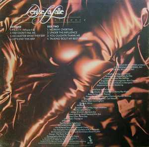Back Cover Album Denise Lasalle - Under The Influence