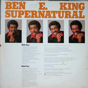 Back Cover Album Ben E. King - Supernatural