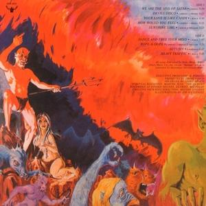Back Cover Album Sins Of Satan - Thou Shalt Boogie Forever