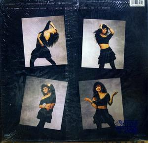 Back Cover Album Nia Peeples - Nothin' But Trouble
