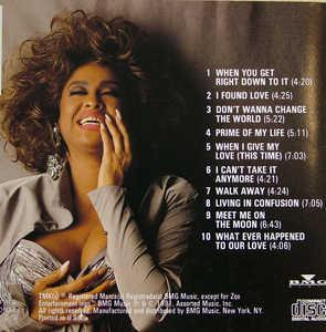 Back Cover Album Phyllis Hyman - Prime Of My Life