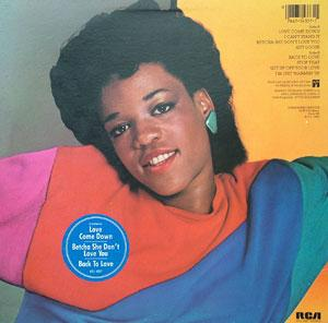 Back Cover Album Evelyn 'champagne' King - Get Loose