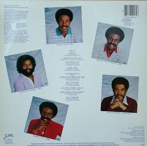 Back Cover Album The Whispers - Love For Love