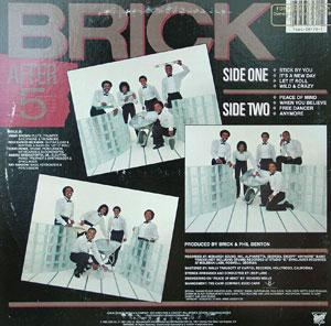 Back Cover Album Brick - After 5