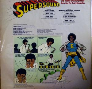 Back Cover Album Jimmy Castor Bunch - Supersound