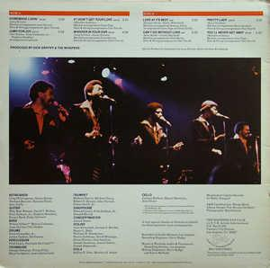 Back Cover Album The Whispers - Whisper In Your Ear
