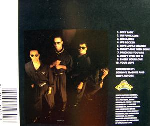 Back Cover Album The Funk Club - Funky And Then Some