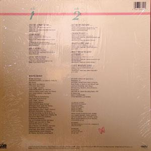 Back Cover Album Jean Carne - You're A Part Of Me