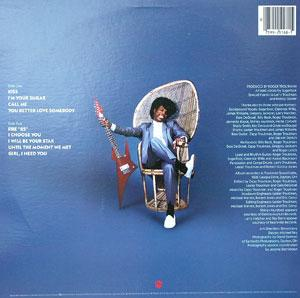 Back Cover Album Leroy 'sugarfoot' Bonner - Sugar Kiss