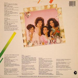 Back Cover Album Sister Sledge - Betcha Say That To All The Girls