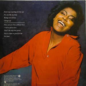 Back Cover Album Jean Terrell - I Had To Fall In Love