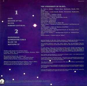 Back Cover Album Slave - Slave 88