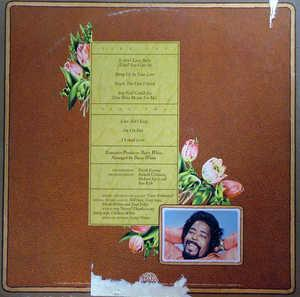 Back Cover Album Barry White - The Message Is Love