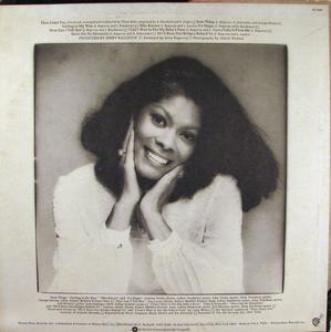 Back Cover Album Dionne Warwick - Then Came You