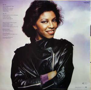 Back Cover Album Natalie Cole - Happy Love