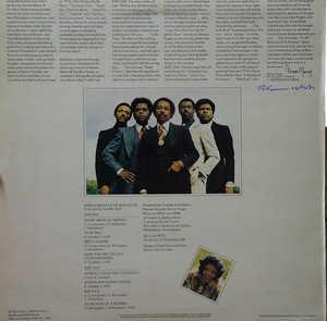Back Cover Album Harold Melvin & The Blue Notes - To Be True