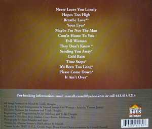 Back Cover Album Marcell Russell And The Truth - Hopes Too High