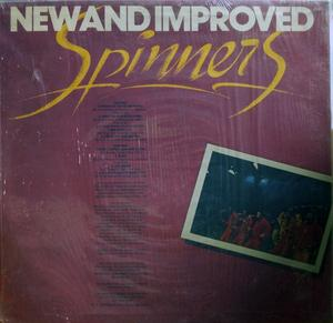 Back Cover Album The Spinners - New And Improved Spinners