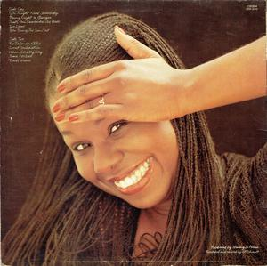 Back Cover Album Randy Crawford - Secret Combination