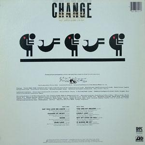 Back Cover Album Change - Change Of Heart