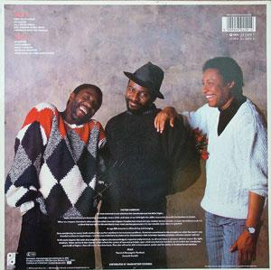 Back Cover Album The O'jays - Love Fever