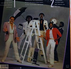 Back Cover Album Commodores - 13