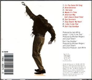 Back Cover Album Michael Rodgers - I Got Love