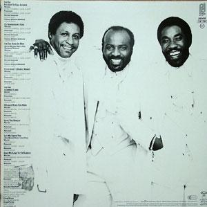 Back Cover Album The O'jays - Love And More